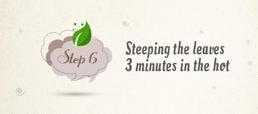 making green tea step6