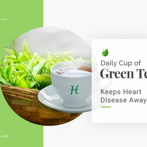 Daily Cup of Green Tea Keeps Heart Disease Away