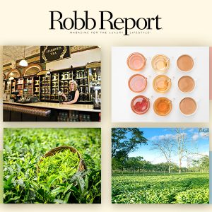 Halmari Tea Features In The Prestigious Robb Report