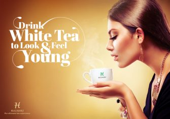 Drink White Tea to Look and Feel Young