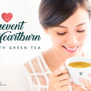 How to Prevent Heartburn with Green Tea