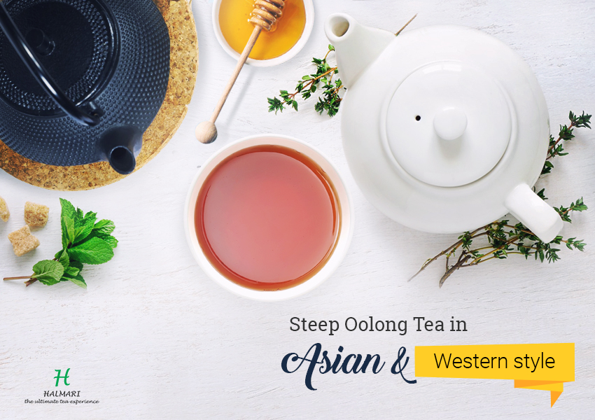 Oolong Tea in Asian and Western Style