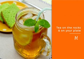 Tea on the Rocks and On Your Plate