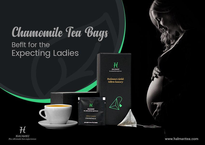 How Chamomile Tea Bags Befit The Expectations of the Expecting Ladies?