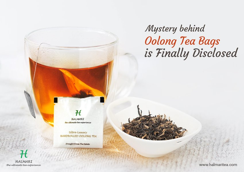 Mystery behind Oolong Tea Bags