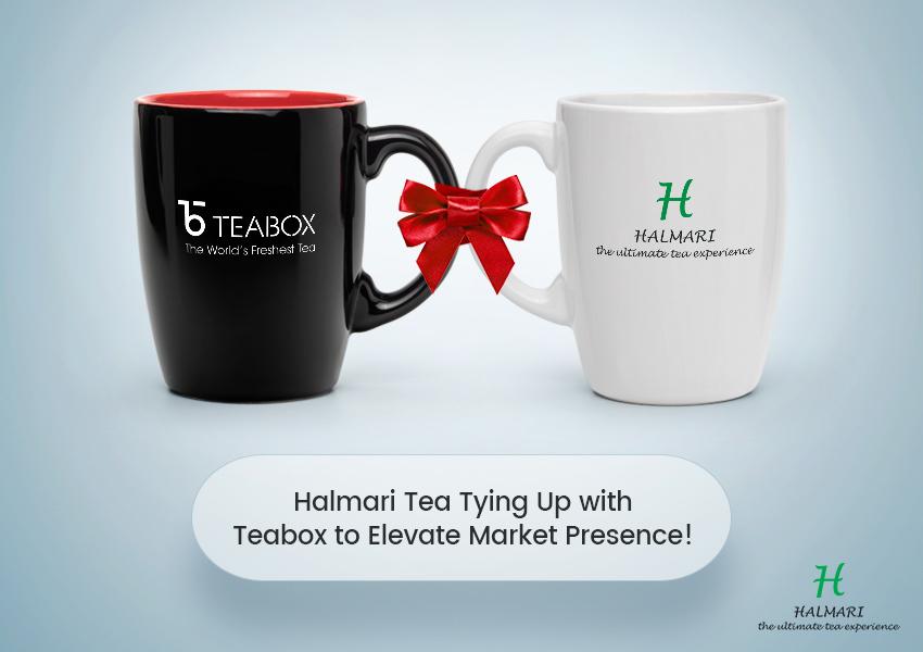Halmari Tea Tying Up with Teabox