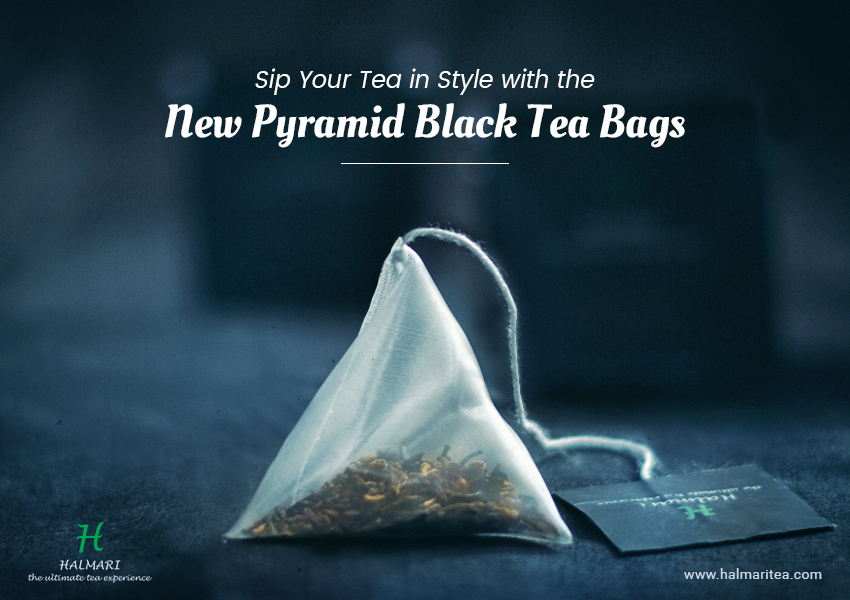 New Pyramid Black Tea Bags