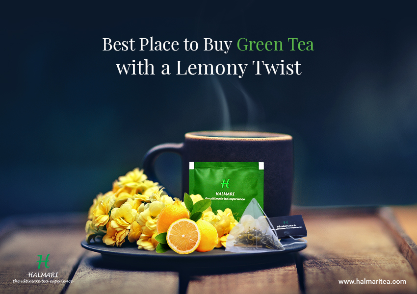 Buy Lemon Green Tea Bags