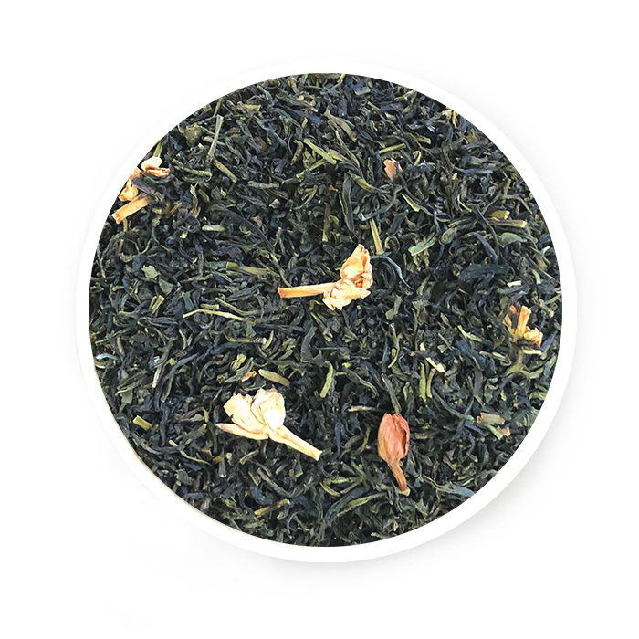 Green Jasmine Loose Tea Leaf