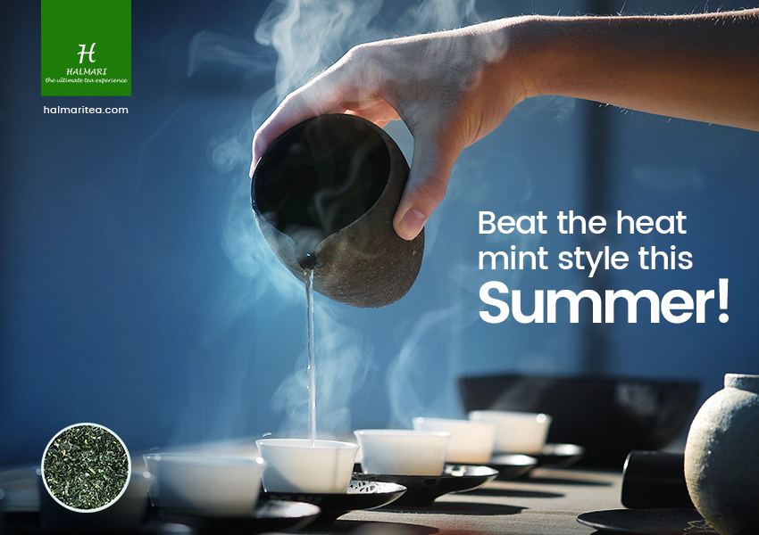Surviving Summer Becomes Easy When You Buy Peppermint Tea!