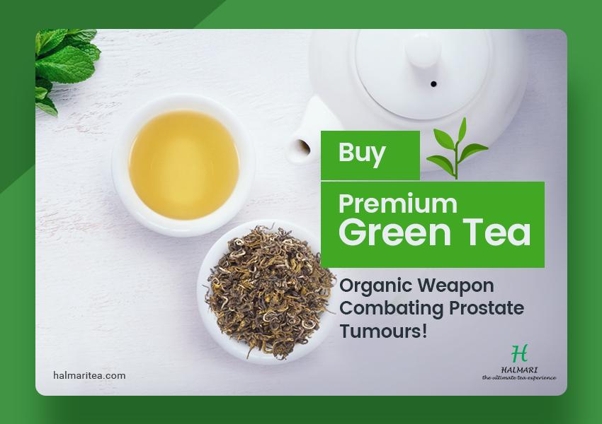 Buy Premium Green Tea - Prostate Tumours