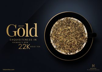 Experience the Novelty of Gold with Halmari's New Launch, 22K Gold Tea