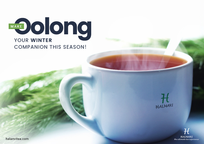 Make Oolong your winter companion