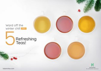 5 Types of Teas Perfect to Flow with the Winter Frost