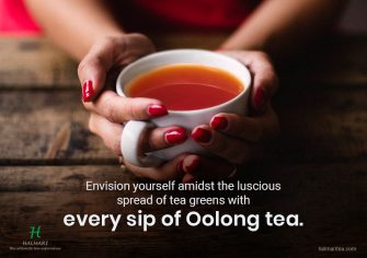 Soothe your senses with a cup of luxurious richness – Premium Oolong Tea