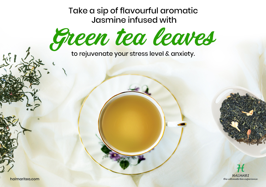 Buy Jasmine Green Tea in USA to Relish the Flavorful Aromatic Potion
