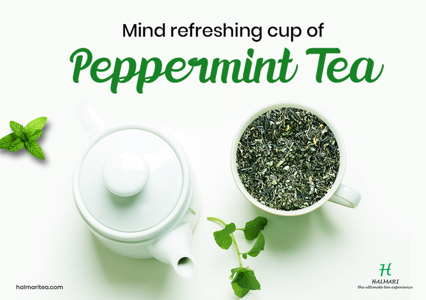 Start Your Morning with a Healthy Sip of Minty Fresh Peppermint Tea