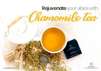 Improve Your Health Standard with Aromatic Chamomile Tea