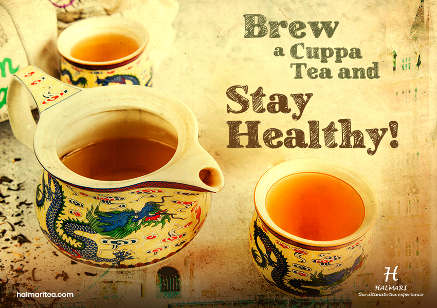 Brew a Cuppa Tea and Stay Healthy