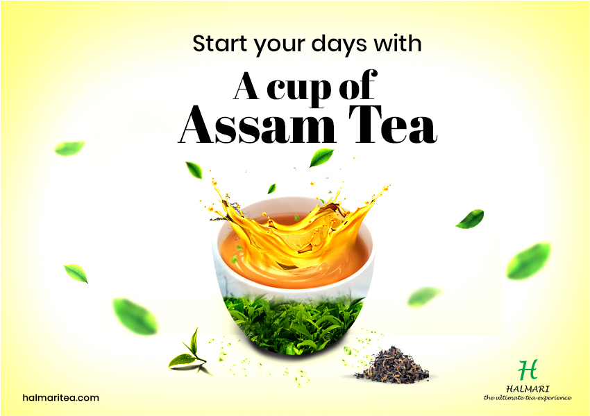 Start your days with a cup of Assam tea