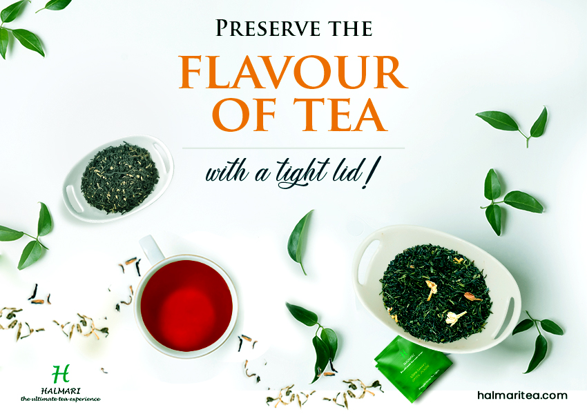 Preserve the flavour of tea