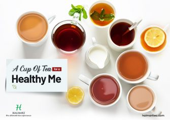 A Cup of Healthy Tea a Day Keeps Ailments Away