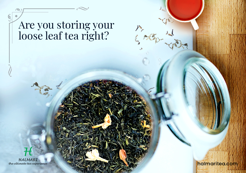 storing your loose leaf tea