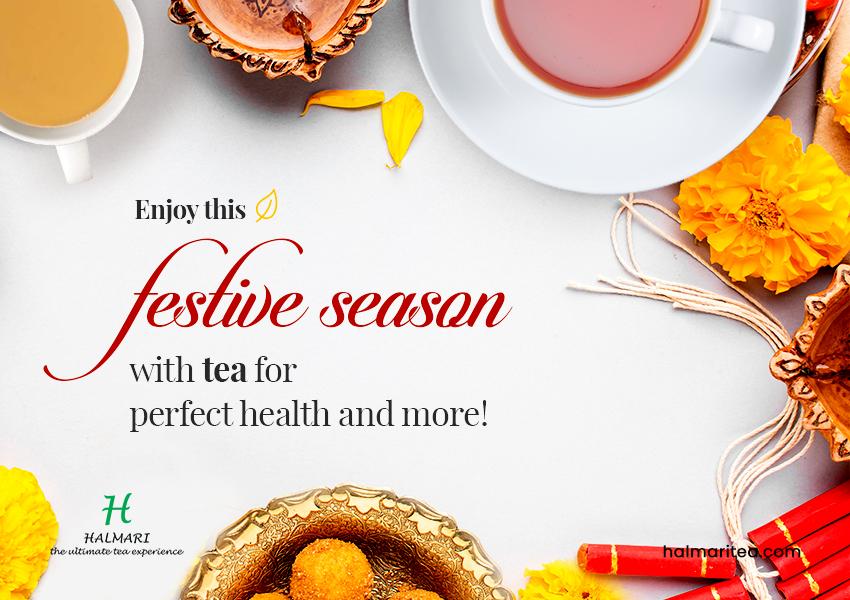 Health Benefits of Tea for Enjoying the Sparkling Festive Season
