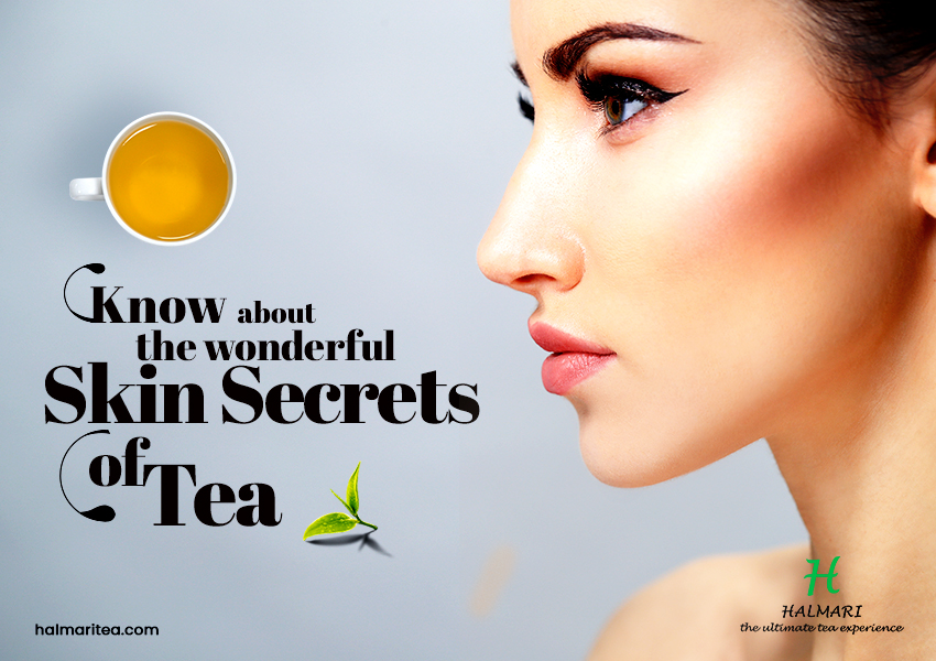 Drink These 4 Tea and Say Goodbye to Skin Issues Forever