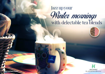 Liven Up Your Winter Days with Delicious Tea Blends