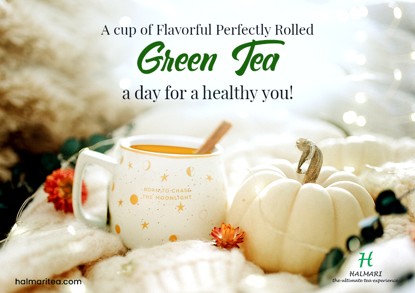 Flavorful Perfectly Rolled Green Tea