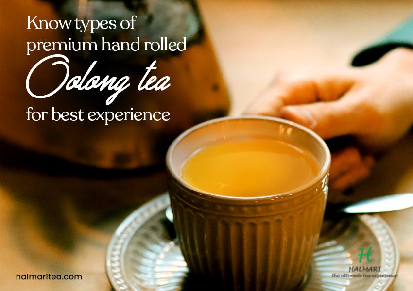 premium hand rolled oolong tea
