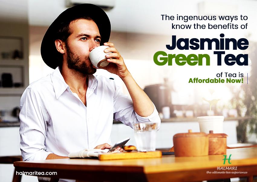 Jasmine Green Tea for a Healthy life