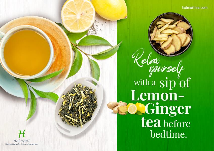 10 health benefits of drinking Lemon Ginger Tea